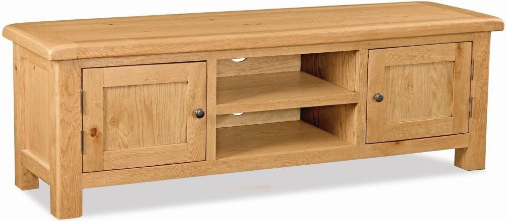 Global Home Salisbury Oak TV Unit - Extra Large