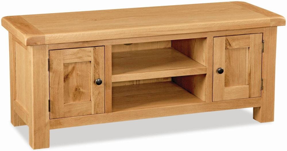 Global Home Salisbury Oak TV Unit - Large