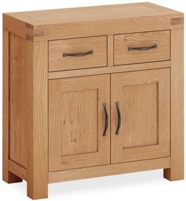 Global Home Sherwood Rustic Oak Mini Sideboard