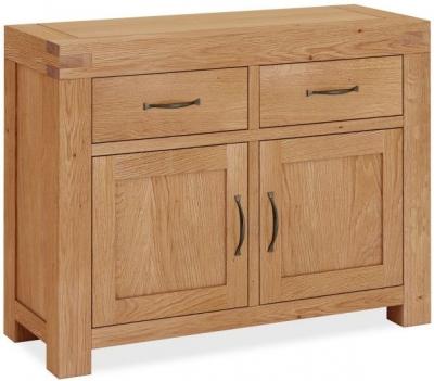 Global Home Sherwood Rustic Oak Small Sideboard