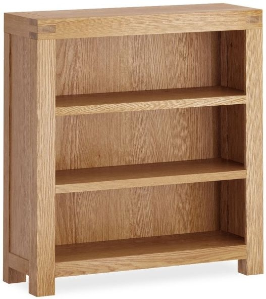 Global Home Sherwood Oak Low Bookcase