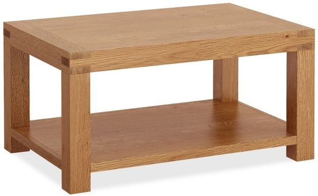 Global Home Sherwood Rustic Oak Coffee Table