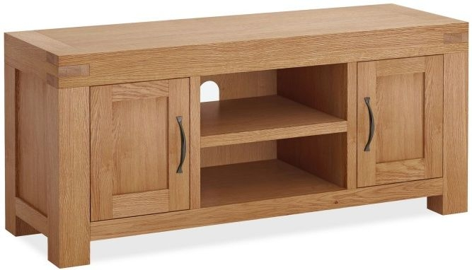 Global Home Sherwood Oak 2 Door TV Unit