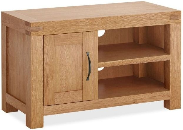 Global Home Sherwood Oak 1 Door Small TV Unit