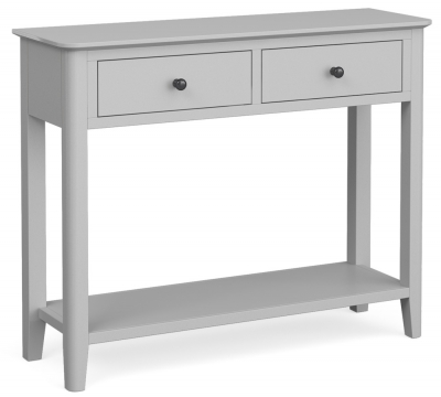 Global Home Stowe Grey Painted Console Table