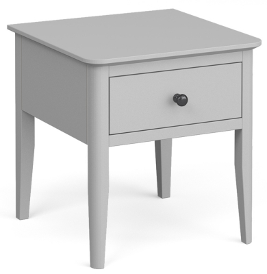 Global Home Stowe Grey Painted Lamp Table