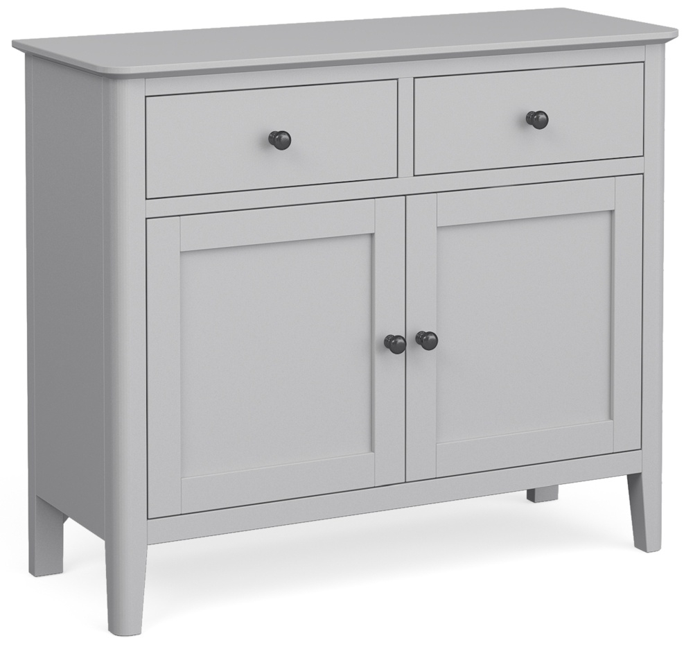 Global Home Stowe Grey Painted Small Sideboard