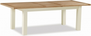 Suffolk Buttermilk Painted 180cm-230cm Extending Dining Table