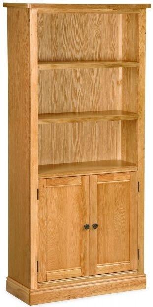 Global Home Sussex Oak Display Cabinet - Open 2 Door