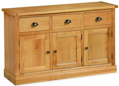 Global Home Sussex Oak Large Sideboard