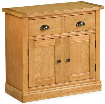 Global Home Sussex Oak Small Sideboard