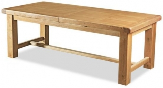 Global Home Vintage Oak Dining Table - Large Extending
