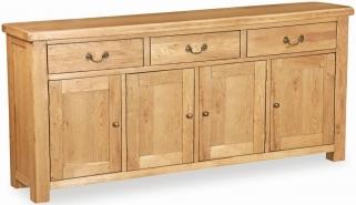 Global Home Vintage Oak Sideboard - Extra Large
