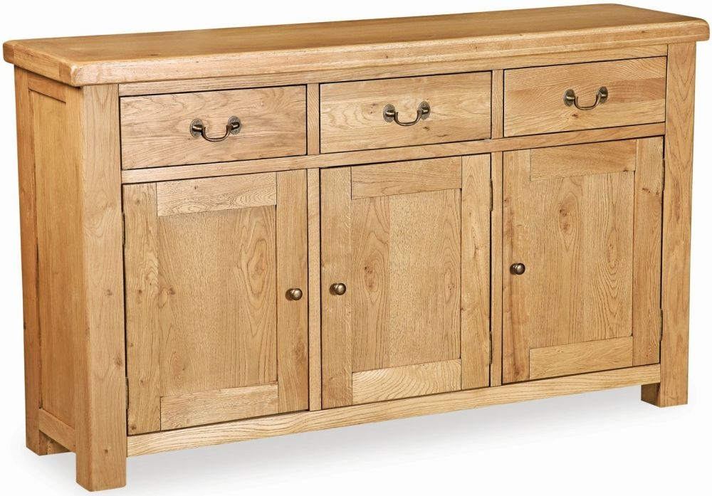 Global home vintage oak sideboard large global home Global home furniture uk