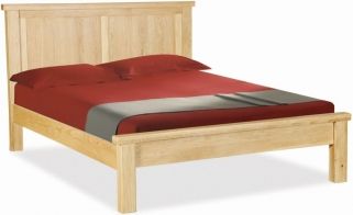 Global Home York Oak Bed - Panelled