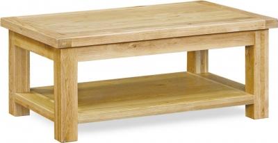 Global Home York Oak Coffee Table