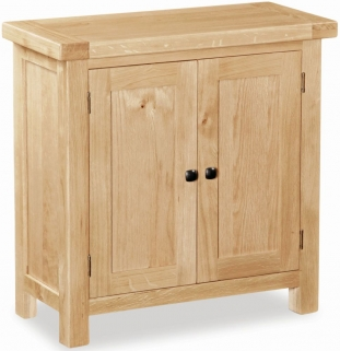 Global Home York Oak Cupboard - Mini