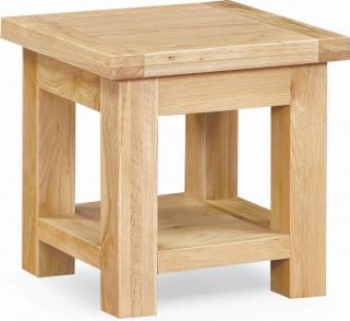 Global Home York Oak Lamp Table