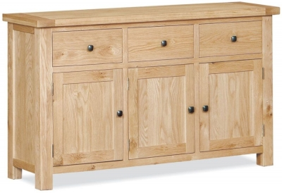 Global Home York Oak Large Sideboard