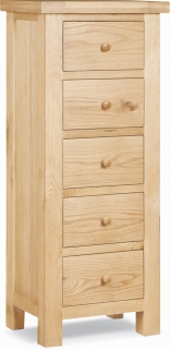 Global Home York Oak Tallboy