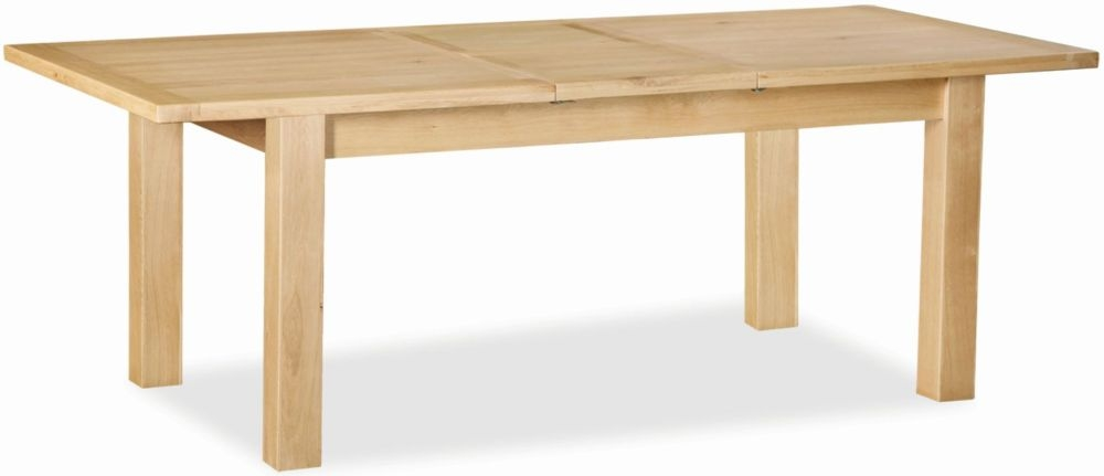 Global Home York Oak Dining Table - Large Extending
