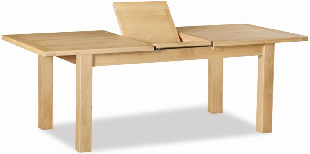 Global Home York Oak Dining Table - Small Extending
