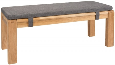 Greenapple Camden Dining Bench with Fabric Cushion