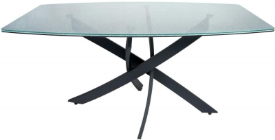 Greenapple Crackle Mosaic Glass Dining Table