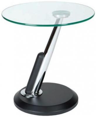 Greenapple Dubai Lamp Table - Glass and Black