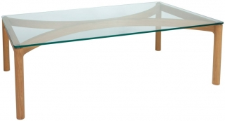 Greenapple Glass Plus Ivory Coffee Table GA9100