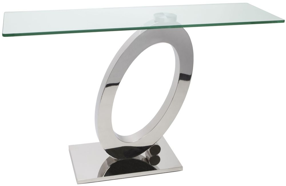 Greenapple Glass Plus Orion Console Table
