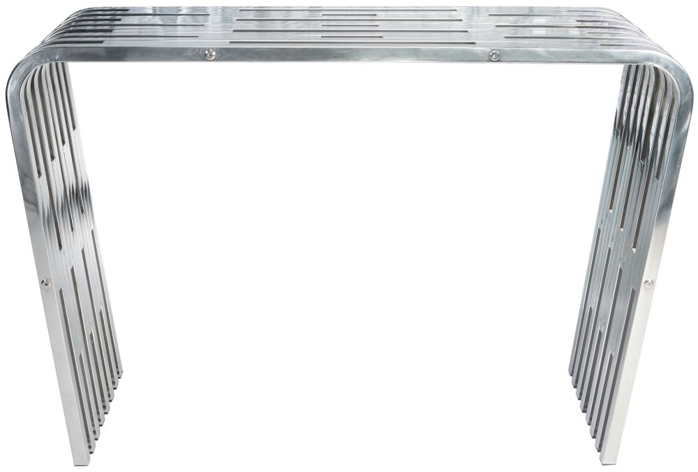 Greenapple Glass Plus Ribb Console Table LY4602