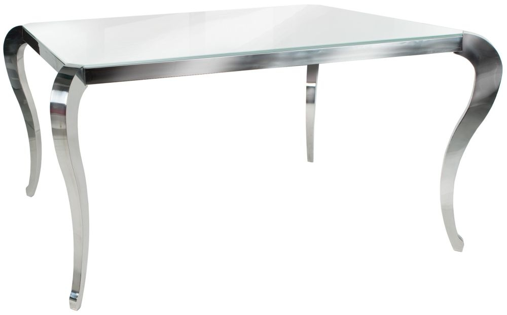 Greenapple Glass Plus Moulin Dining Table - 6 Seater LY7503