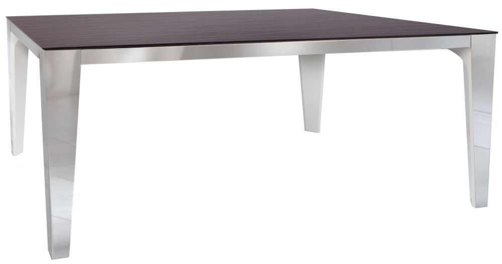 Greenapple Glass Plus Sahara Dining Table - 6 Seater LY7004