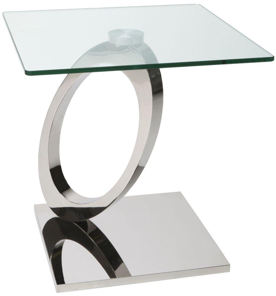 Greenapple Glass Plus Orion Lamp Table GA8286