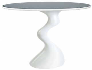 Greenapple Glass Plus Cabaret Table - Grey Top GA700