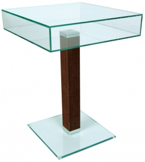 Greenapple Glass Plus Square Table 59163WE