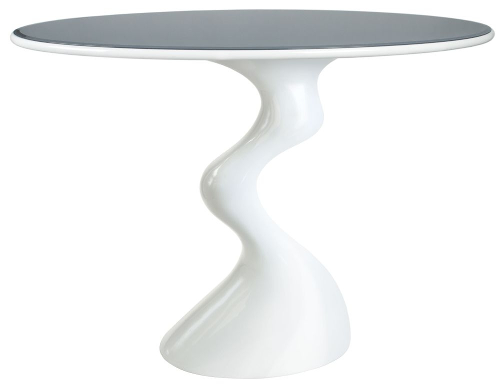Greenapple Glass Plus Cabaret Table - Grey Top GA700