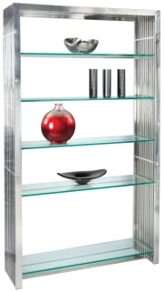 Greenapple Glass Plus Steele Shelving Unit