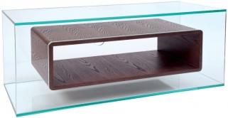 Greenapple Glass Plus Niche TV Stand - Wenge 59406