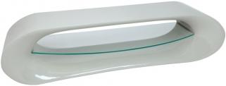 Greenapple Glass Plus Pebble TV Stand GA1160