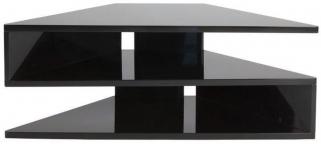 Greenapple Glass Plus Zed TV Stand - Black GA800