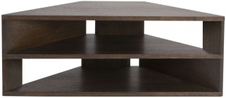 Greenapple Glass Plus Zed TV Stand - Wenge GA804