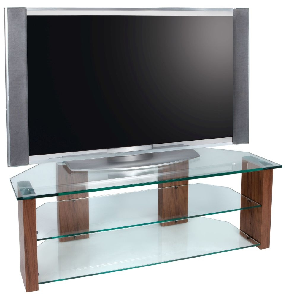 Greenapple Glass Plus Column TV Stand LY8600
