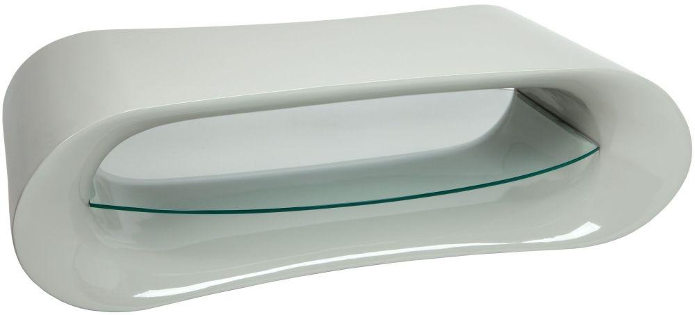 Greenapple Glass Plus Pebble TV Stand GA1161