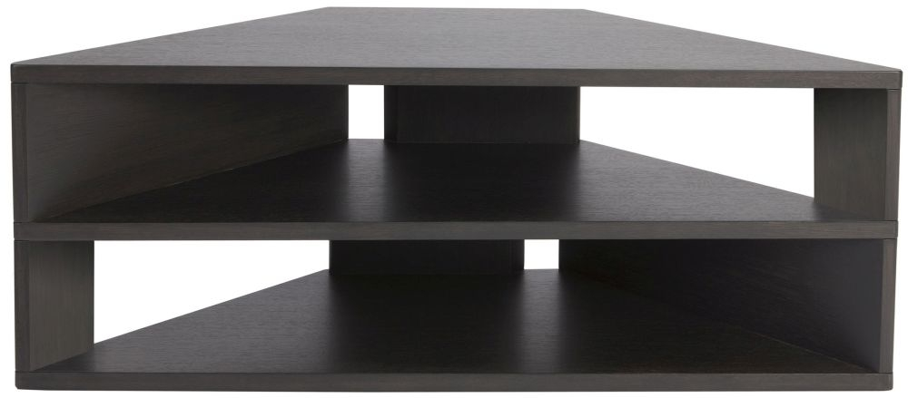Greenapple Glass Plus Zed TV Stand - Charcoal GA805