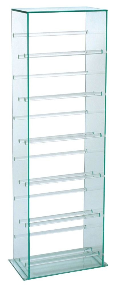 Greenapple Pure Glass CD Stand - Large 59767
