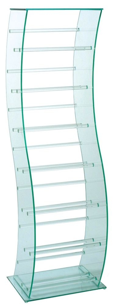 Greenapple Pure Glass S Shaped CD Stand 59775