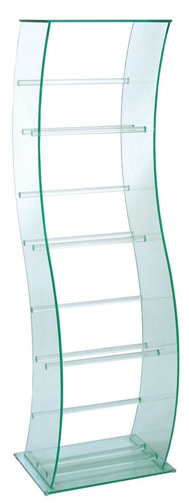 Greenapple Pure Glass S Shaped DVD Video Stand 59781