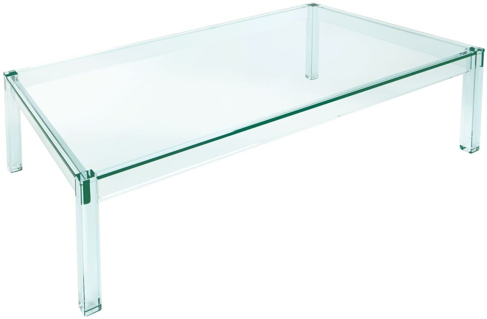 Greenapple Pure Glass Crystal Vienna Coffee Table